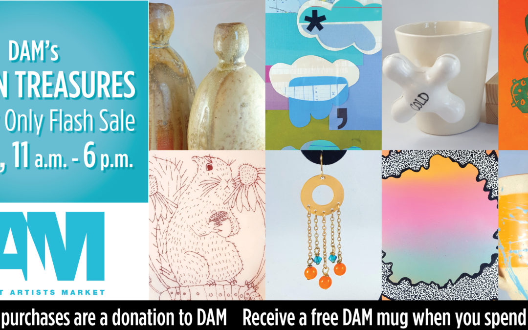 DAM's Hidden Treasures Flash Sale!