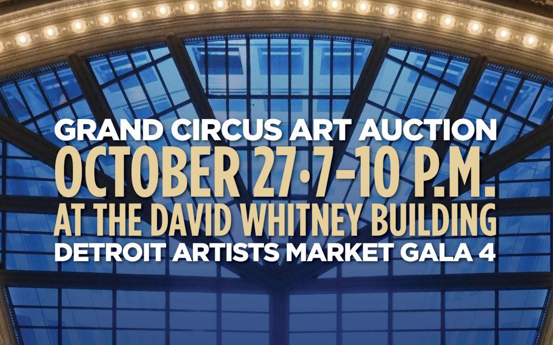 Grand Circus Art Auction: DAM Gala 4