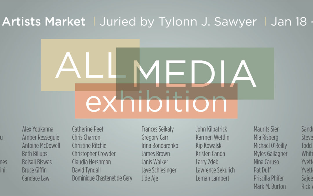 All Media Exhibition, Juried by Tylonn J. Sawyer