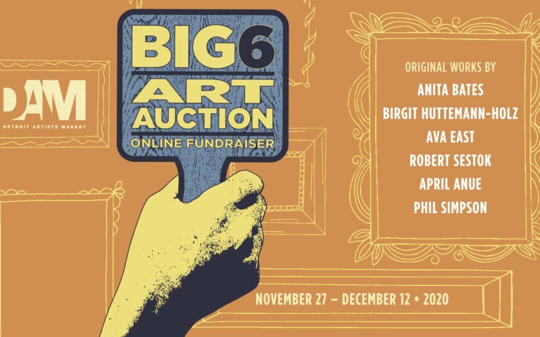 Big Six Art Auction Online Fundraiser